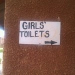 To Girls Latrine